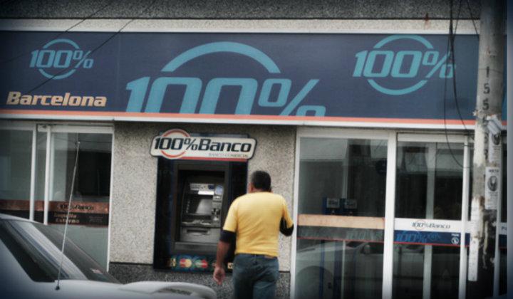 Resultado de imagen para 100 BANCO