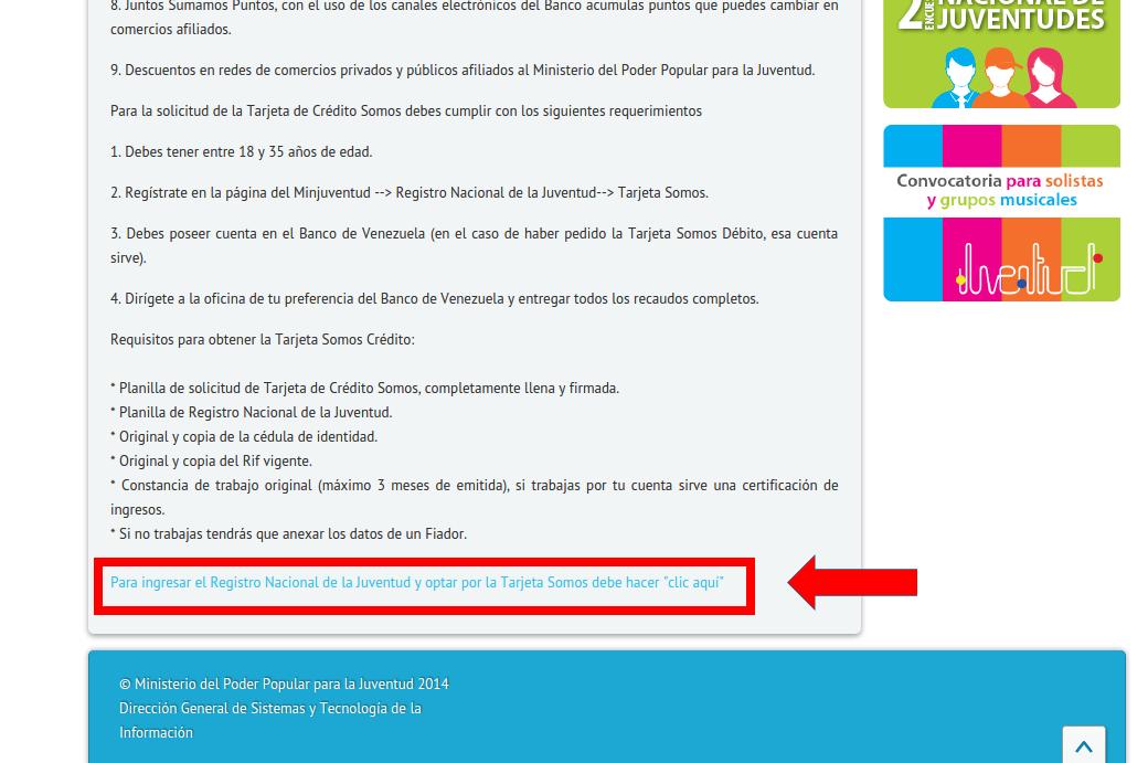 solicitud de tarjeta de credito somos del banco de On solicitud de tarjeta de credito banco de venezuela