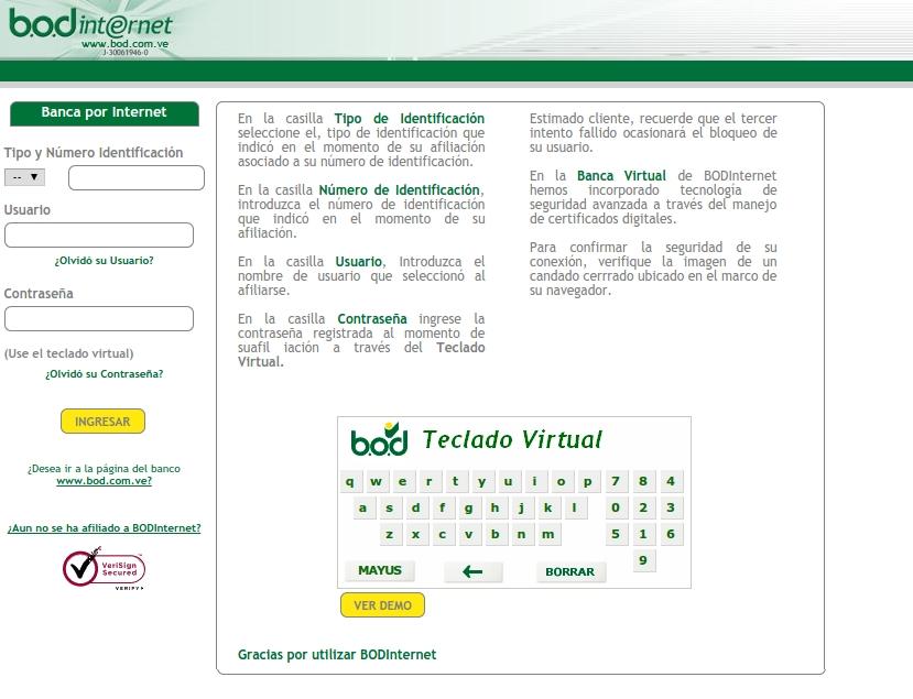 Lobby de BOD en línea
