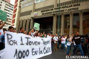 Imágenes de protestas en Venezuela febrero 2014