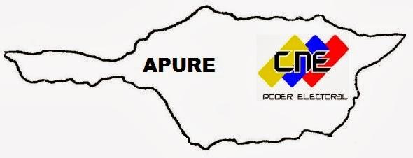 Centros de Inscripción y Actualización CNE Apure