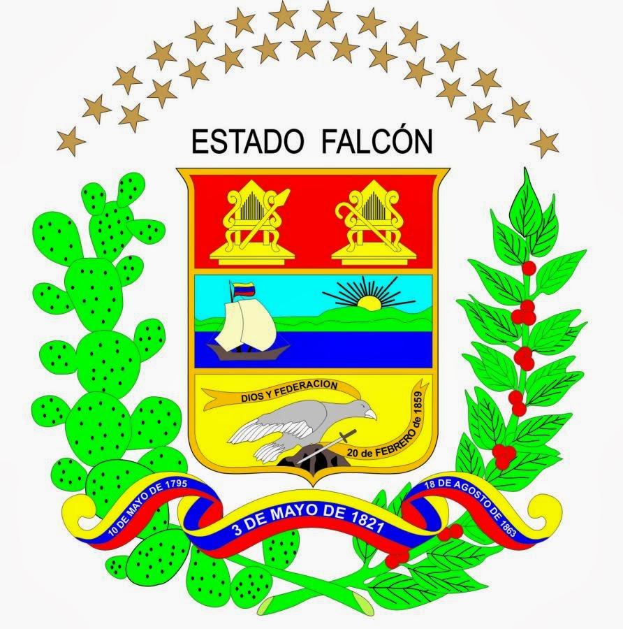 Símbolos Patrios del Estado Falcón