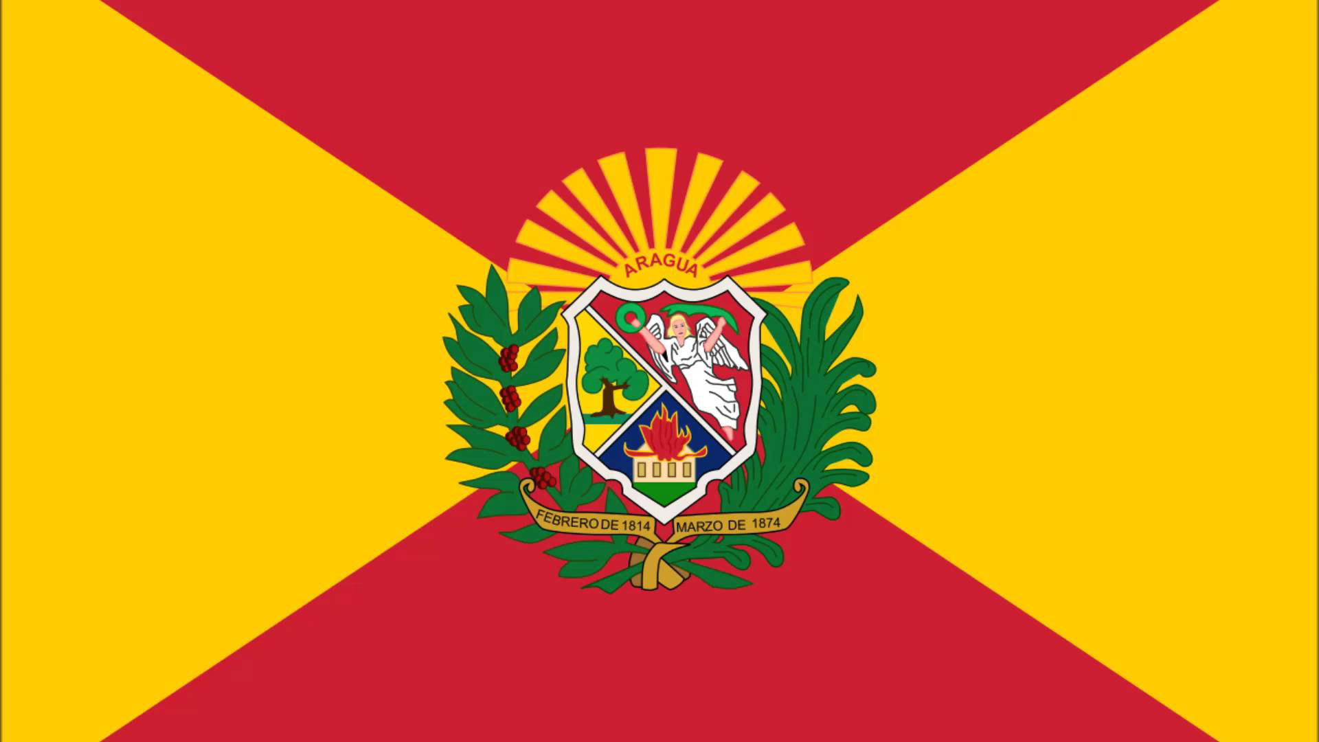 Símbolos Patrios del Estado Aragua