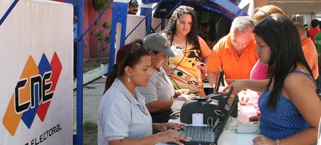 Centros de Actualizacion y Registro del CNE