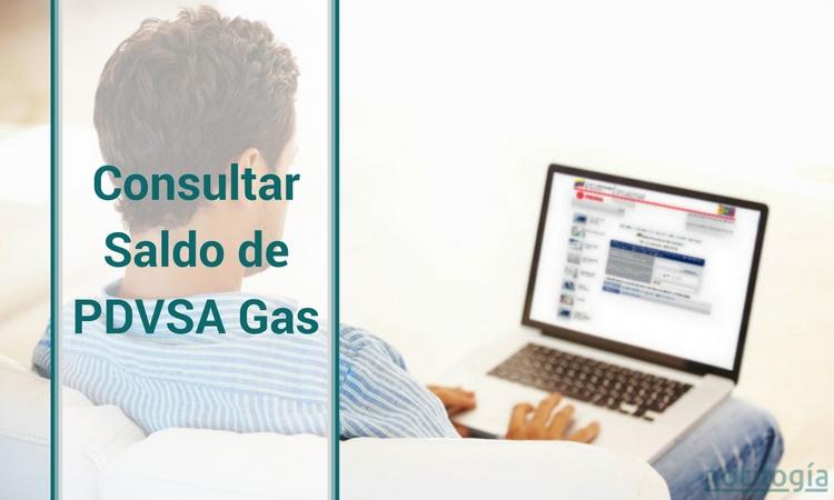Consultar Saldo de PDVSA Gas