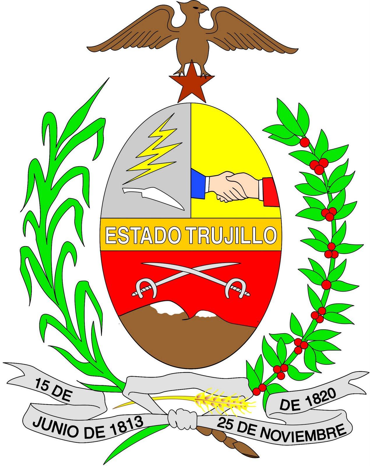 Símbolos Patrios del Estado Trujillo