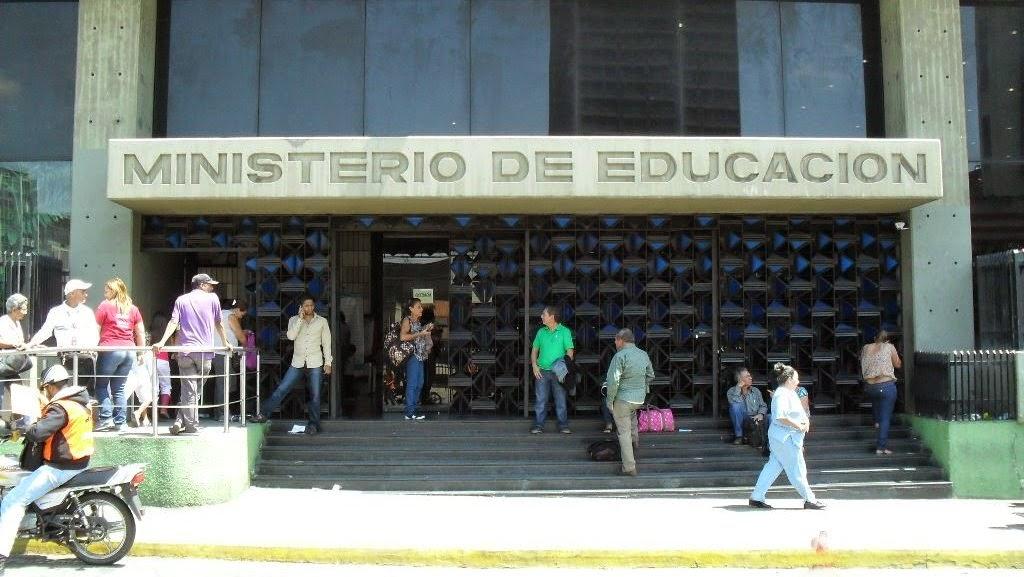 Sede principal del Ministerio del Poder Popular para La Educación.
