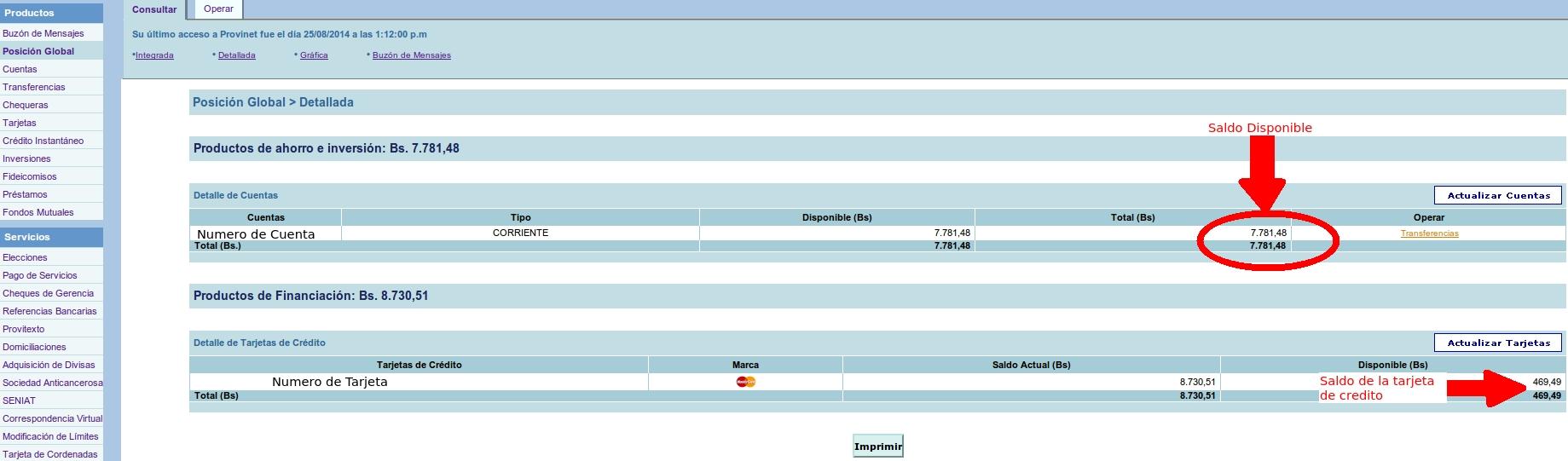 Banco provincial consulta de saldo en l nea for Banesco online consulta de saldo cuenta de ahorro