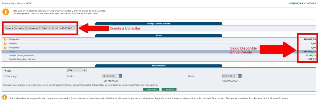 Banesconline consulta de saldo for Banco de venezuela solicitud de chequera