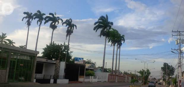 Calle de la sede del CNE Trujillo
