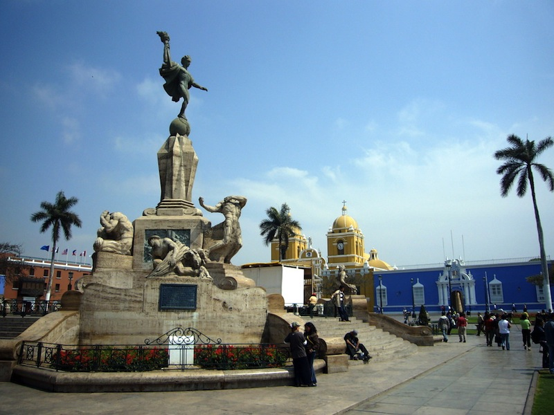 Plaza de armas Estado Trujillo
