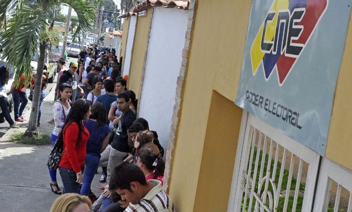 Sede del CNE en el estado Vargas