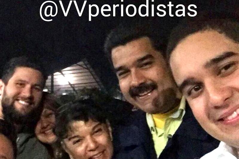 Viaje de la Familia de Maduro