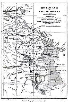Guyana Esequiba hasta el año 1899