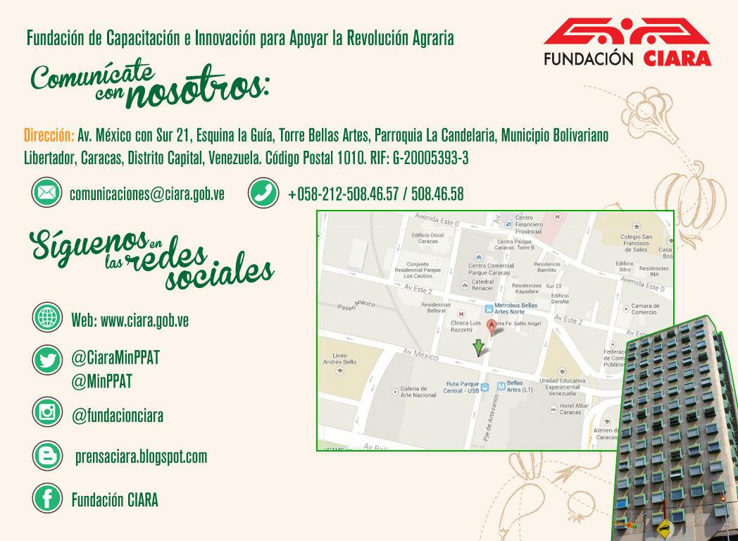 Contacto Fundación CIARA