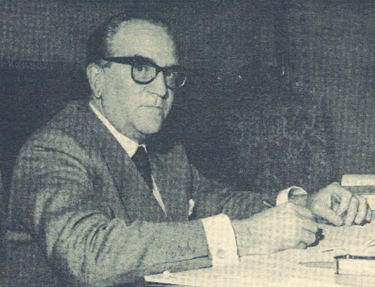 Ministro de Relaciones Exteriores Doctor Ignacio Iribarren Borges