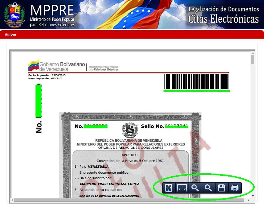 C mo validar legalizaciones en el ministerio de relaciones for Ministerio de interior legalizaciones