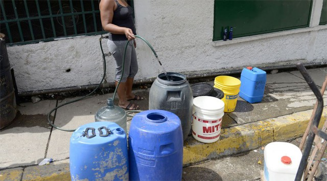Escasez de agua en Falcón Emergencia