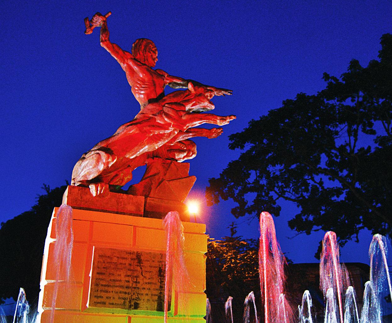 Monumento al Cacique - Estado Yaracuy