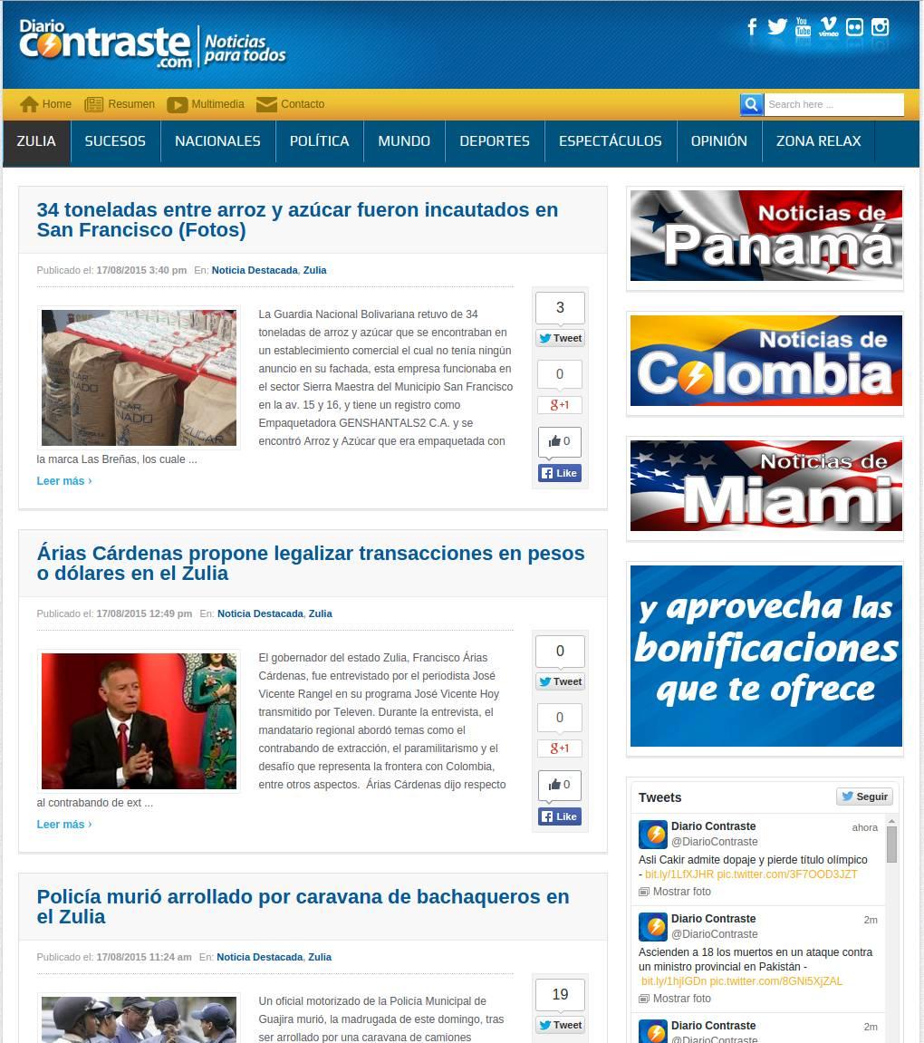 Diario Contraste