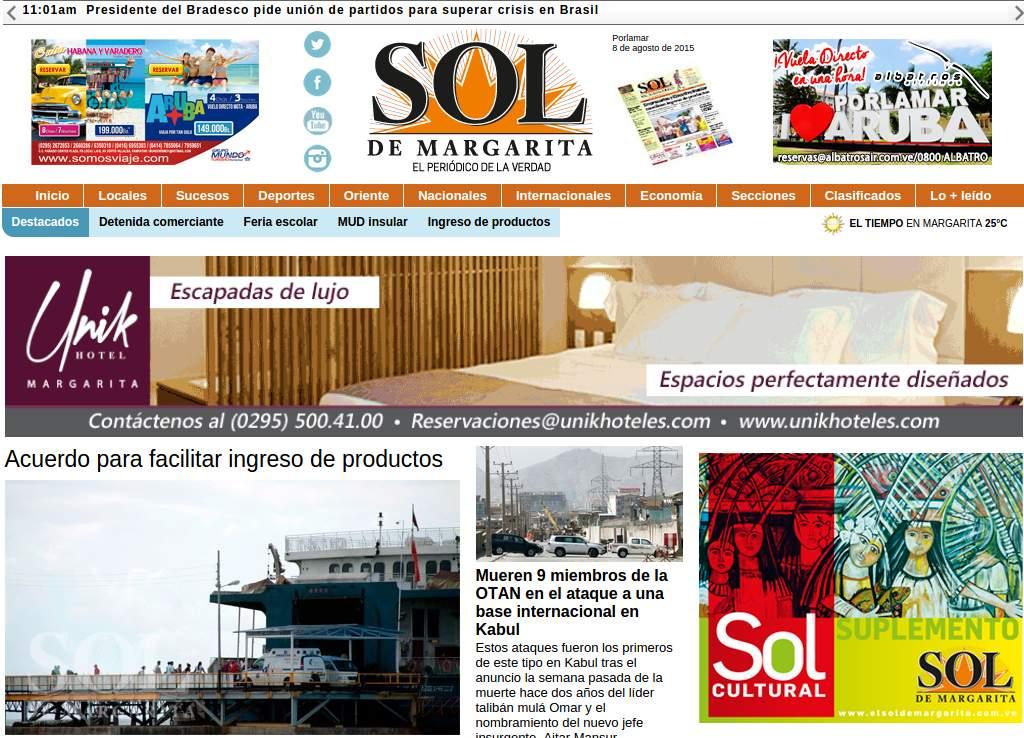 Diario El Sol de Margarita