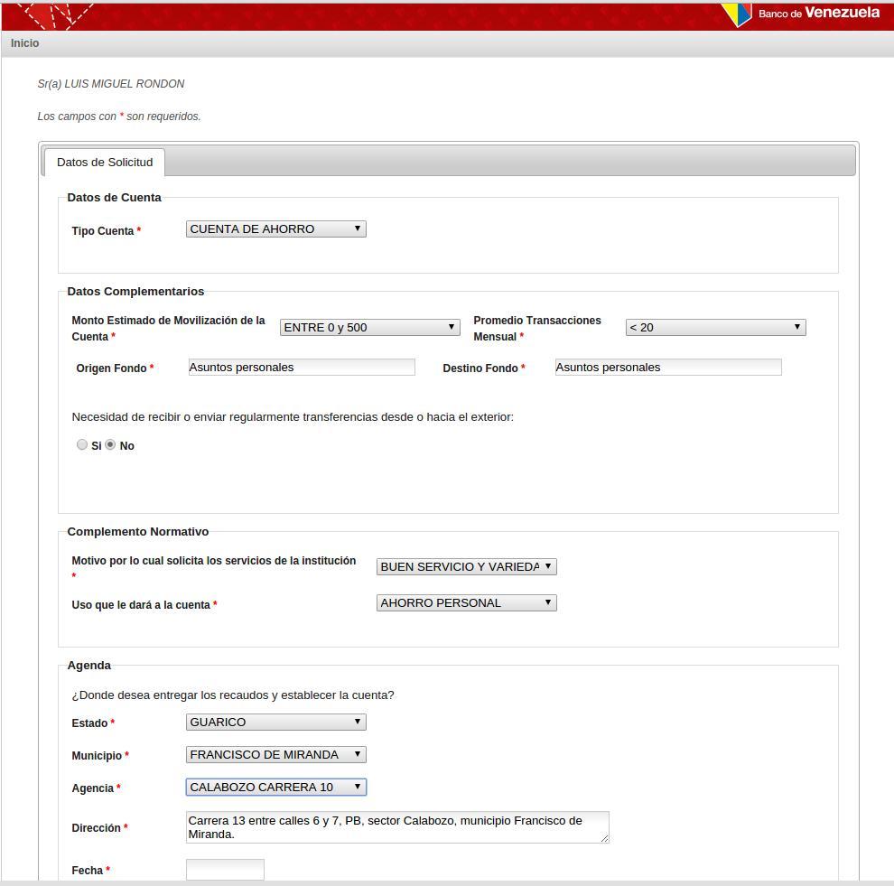 C mo imprimir el comprobante de cita de preapertura de for Hotmailbanco de venezuela
