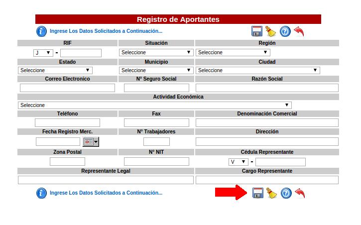 Inces Registro Empresa