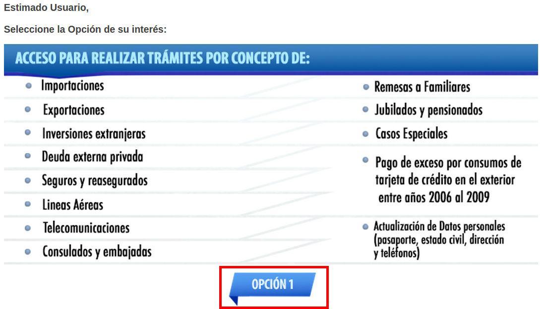 Opción 1 Cencoex
