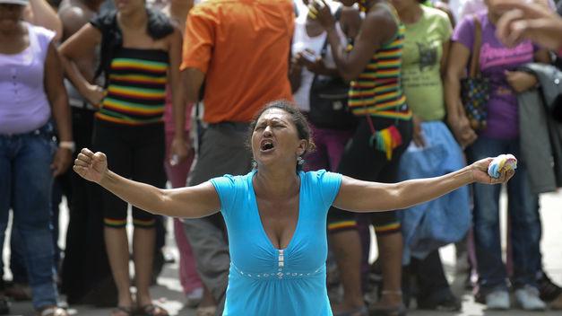 grave deterioro de la condición de vida de Venezuela