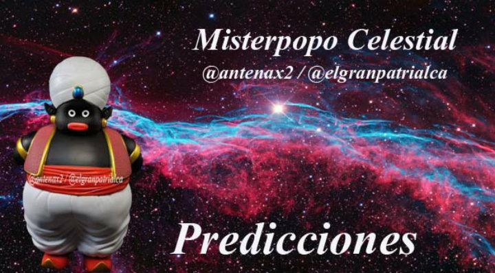 Predicciones de Misterpopo 14 de Diciembre #14Dic