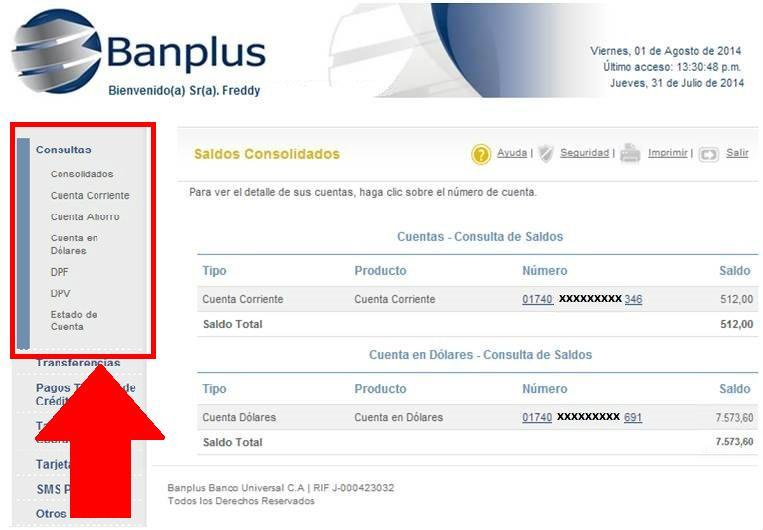 Saldo de mi cuenta de ahorro banco de venezuela como for Banco de venezuela consulta de saldo