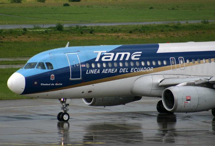 Dónde sellar pasajes de Tame Línea Aérea Del Ecuador para Cencoex