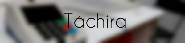 Resultados parlamentarias Tachira