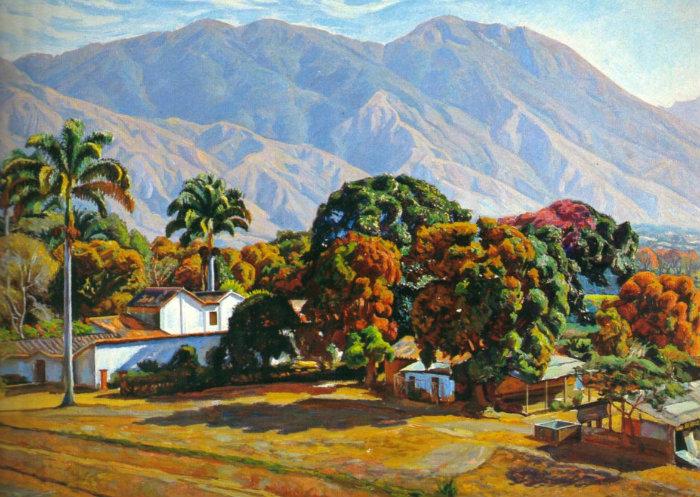 Pinturas de Manuel Cabré