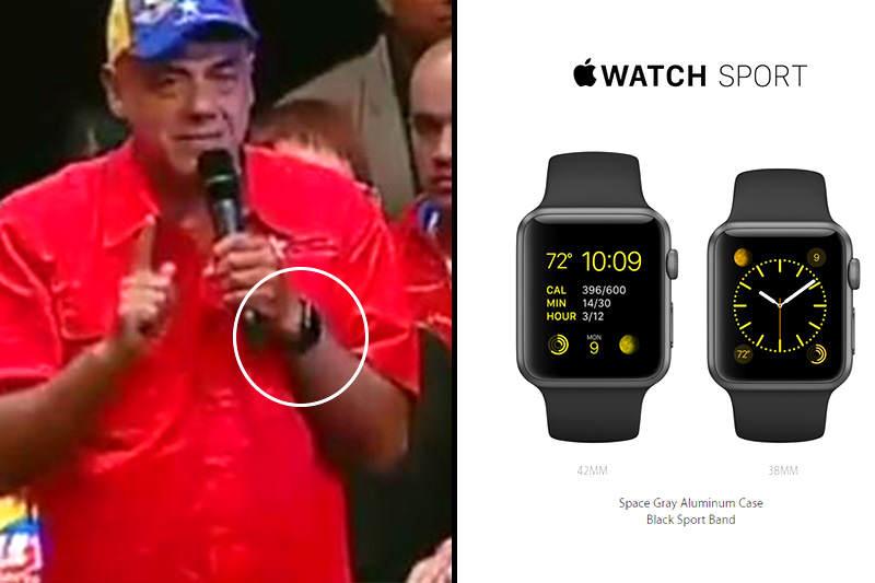 Jorge Rodríguez  Apple  Watch