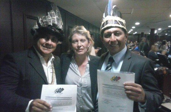 Juramentados diputados de Amazonas