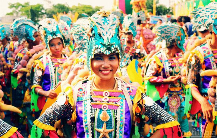 Acto cultural en Filipinas