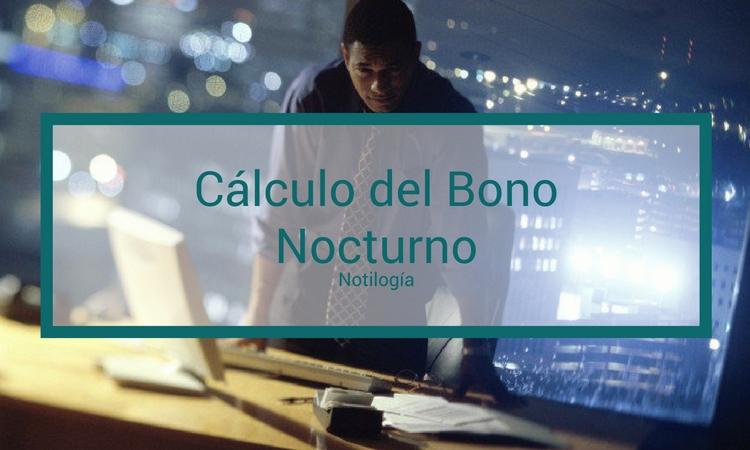 Cálculo de Bono Nocturno en Venezuela