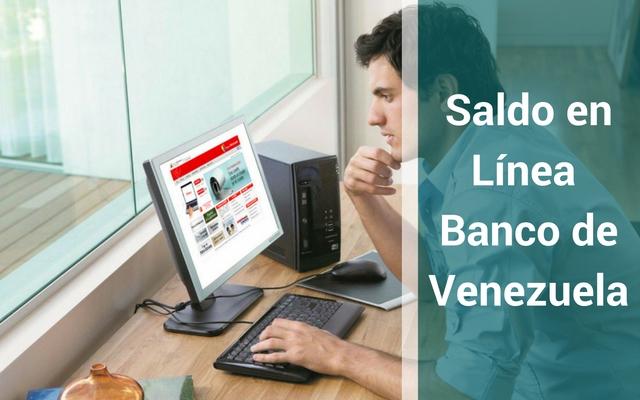 Consultar saldo en cuenta del banco de venezuela consultar for Banco de venezuela consulta de saldo