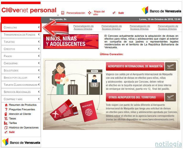 Consulta saldo del banco de venezuela for Banco de venezuela consulta de saldo