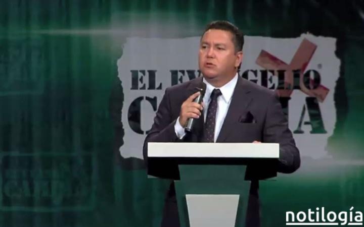 Pastor Javier Bertucci anunció su candidatura a la presidencia