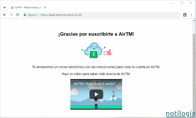 AirTM Paso 3
