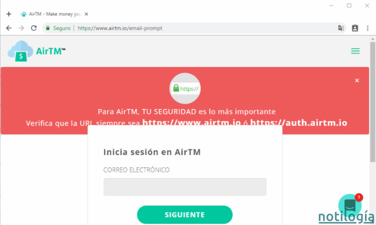 AirTM Paso 5