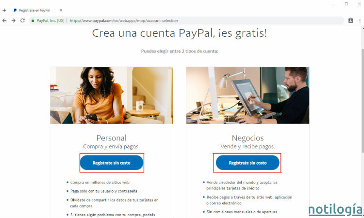 Paypal Paso 2