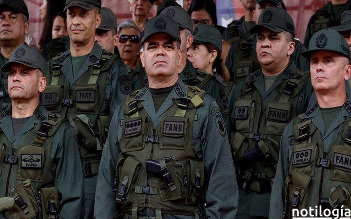 Difundieron supuesta tabla salarial de militares venezolanos