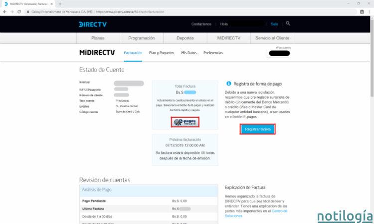 MiDirecTV Paso 3