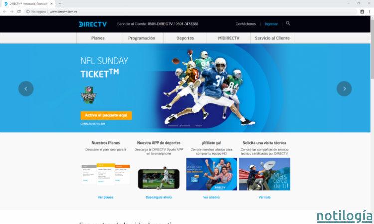 DirecTV Portal Oficial