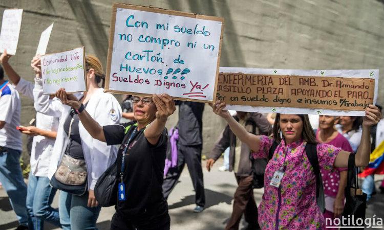 Sueldo mínimo de Venezuela baja a $10 en el mercado oficial