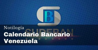 Calendario Bancario Venezuela