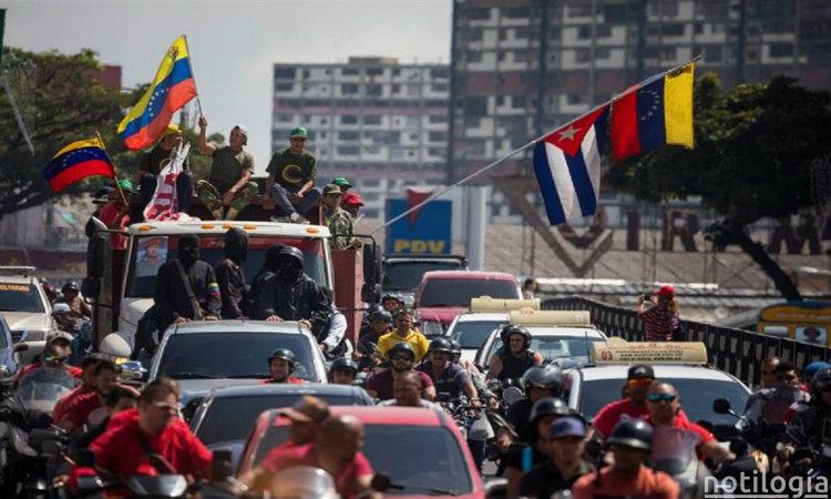 Colectivos defenderan a Nicolas Maduro
